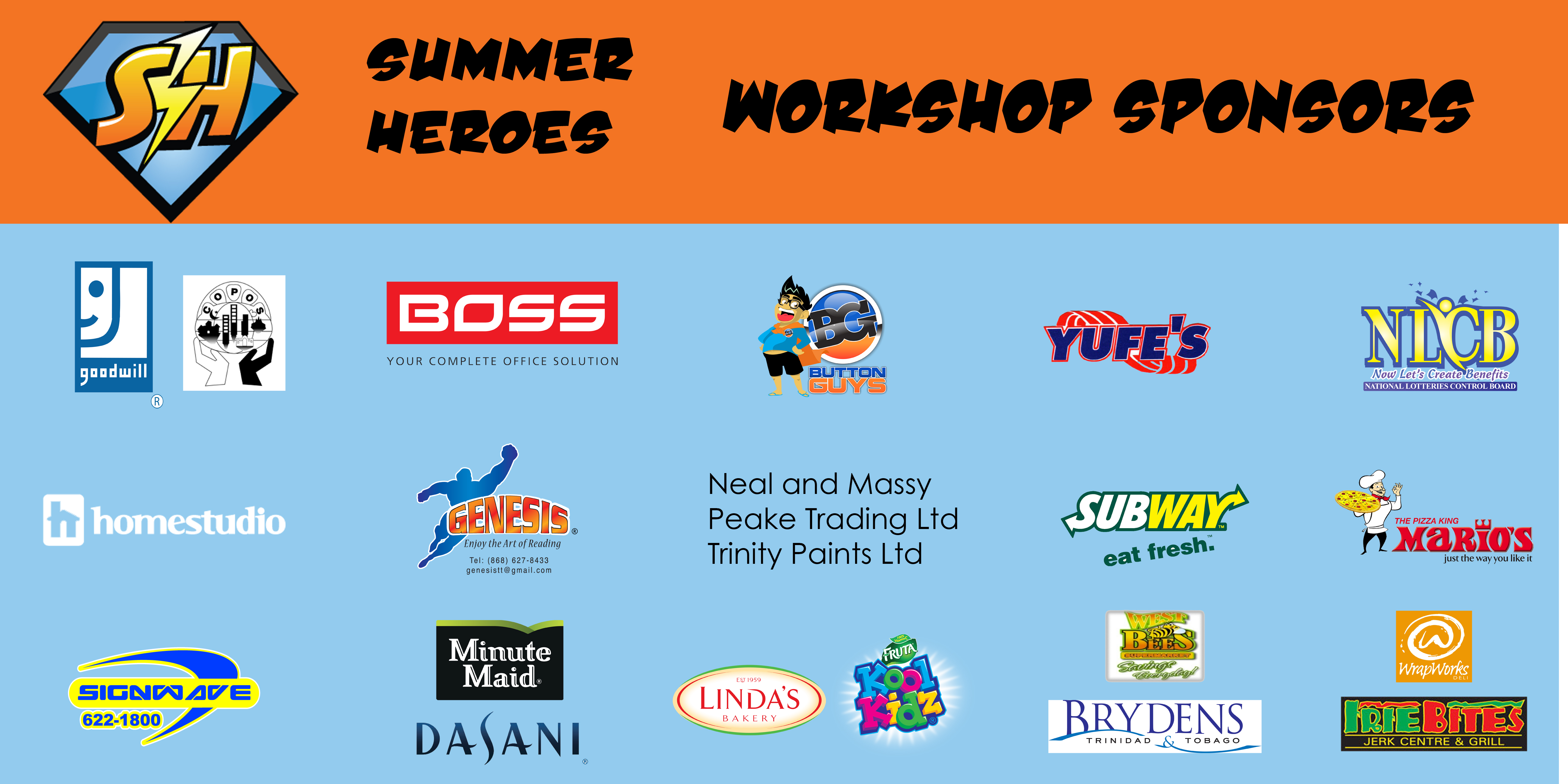 BANNER SH 2013 WORKSHOP SPONSORS